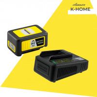 Швидозарядний набір 36 V 2.5 Ah (Акумулятор+ Швидкий зарядний пристрій)