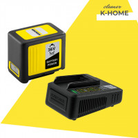 Швидозарядний набір 36 V 5 Ah (Акумулятор+ Швидкий зарядний пристрій)